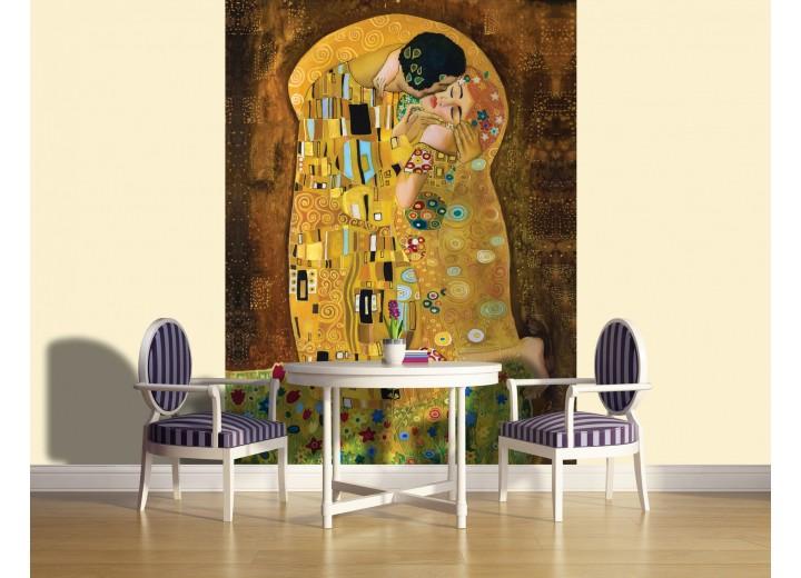 Fotobehang Abstract | Goud | 206x275cm