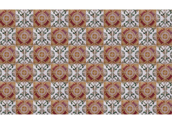 Fotobehang Vlies | Klassiek | Grijs, Oranje | 368x254cm (bxh)