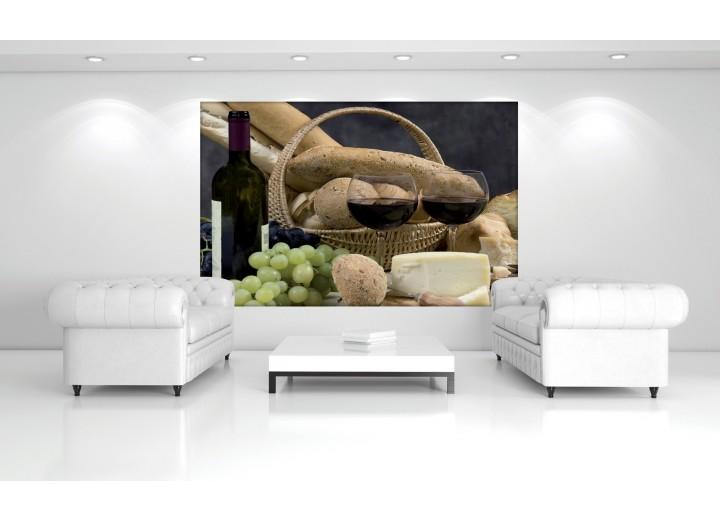 Fotobehang Vlies | Keuken | Bruin | 368x254cm (bxh)
