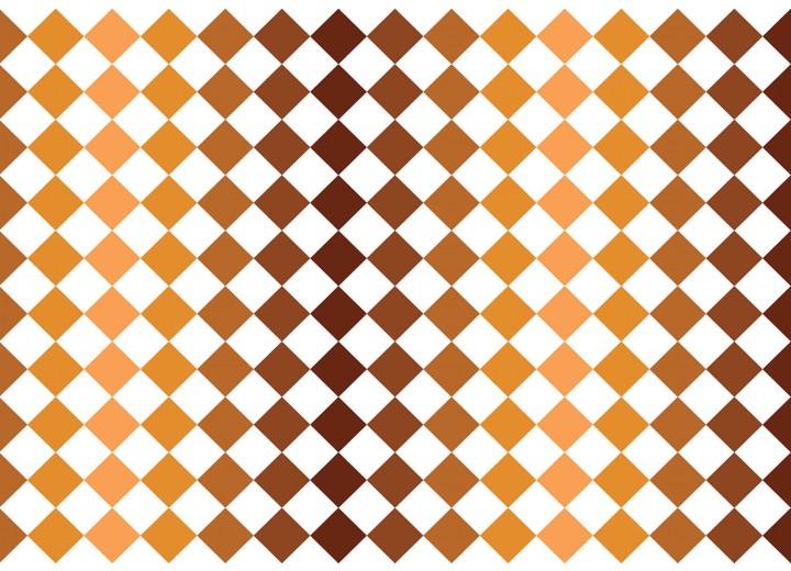 Fotobehang Vlies | Modern | Bruin, Oranje | 368x254cm (bxh)