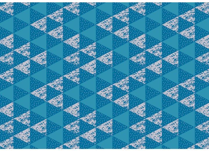 Fotobehang Vlies   Modern   Blauw, Wit   368x254cm (bxh)