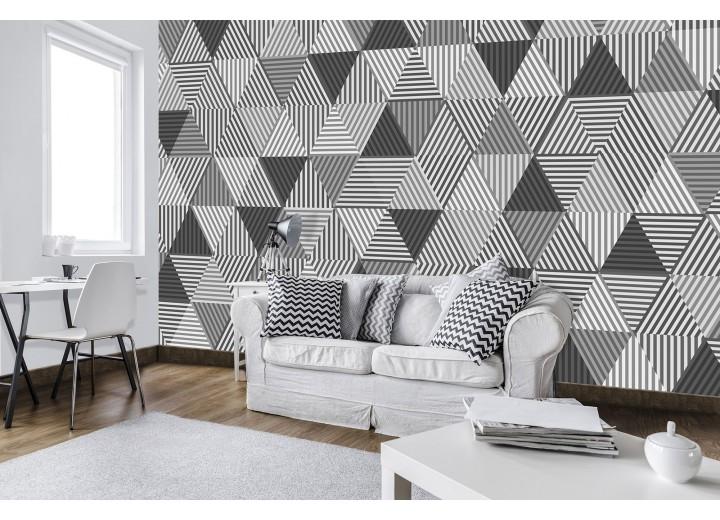 Fotobehang Vlies | Modern | Grijs, Zwart | 368x254cm (bxh)