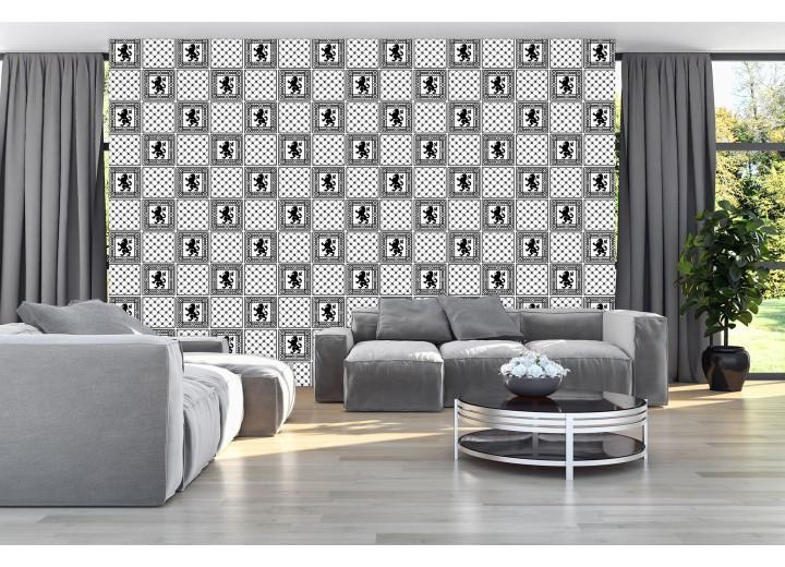 Fotobehang Vlies   Modern   Grijs, Zwart   368x254cm (bxh)