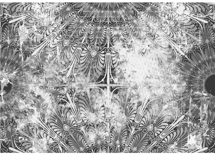 Fotobehang Vlies | Modern | Grijs, Wit | 368x254cm (bxh)