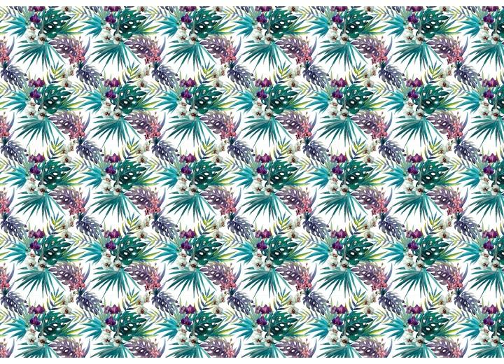Fotobehang Vlies   Klassiek   Groen, Paars   368x254cm (bxh)