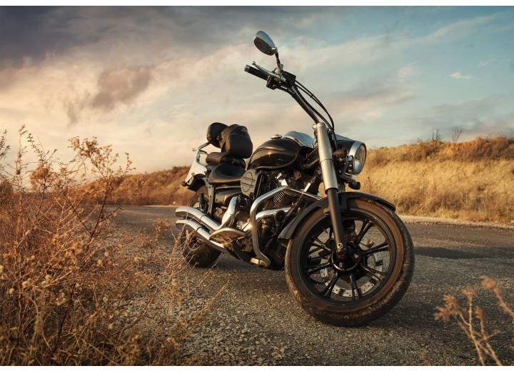 Fotobehang Vlies | Motor | Bruin | 368x254cm (bxh)