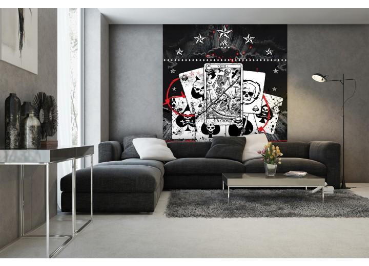 Fotobehang Papier Alchemy, Gothic | Zwart | 184x254cm