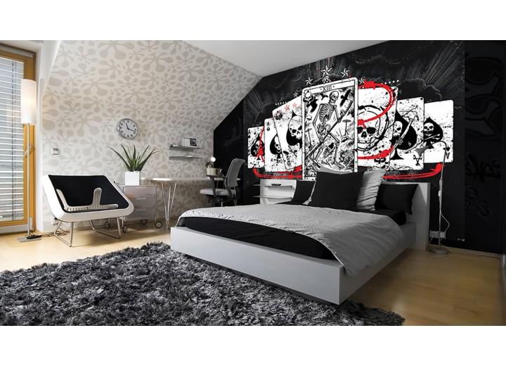 Fotobehang Vlies | Alchemy Gothic | Zwart, Wit | 368x254cm (bxh)