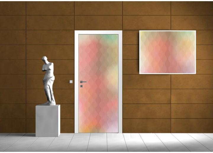 Fotobehang Abstract | Geel | 91x211cm