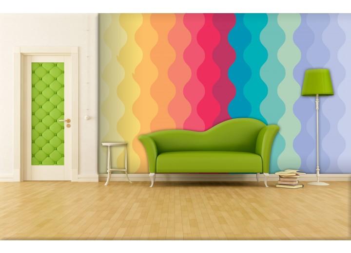 Fotobehang Abstract | Geel,Oranje | 104x70,5cm