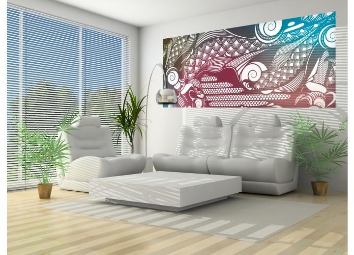 Fotobehang Abstract | Grijs | 250x104cm