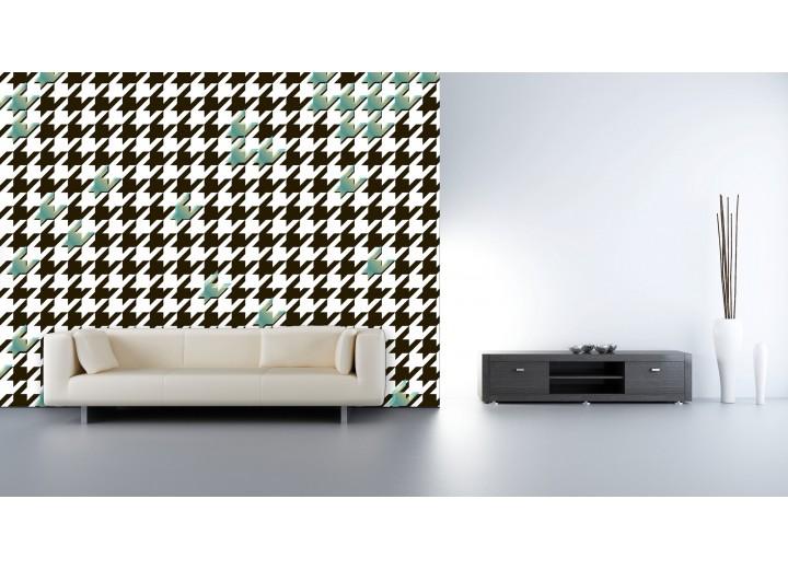 Fotobehang Vlies | Abstract | Zwart, Wit | 368x254cm (bxh)