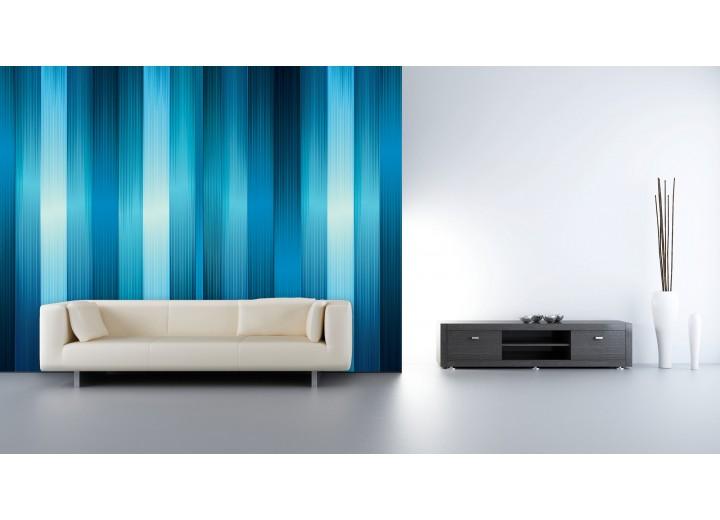 Fotobehang Vlies | Abstract | Blauw | 368x254cm (bxh)