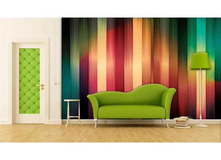 Fotobehang Abstract | Rood, Geel | 312x219cm