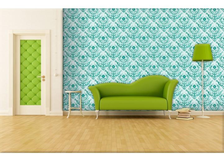 Fotobehang Papier Klassiek | Groen | 254x184cm
