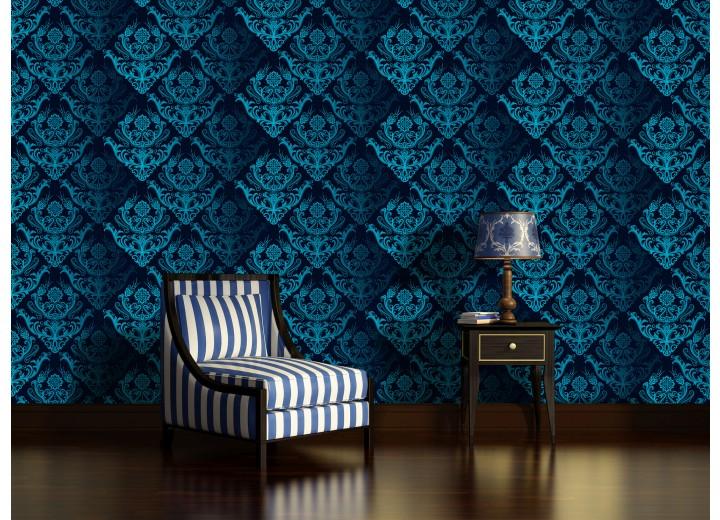 Fotobehang Klassiek | Blauw | 152,5x104cm