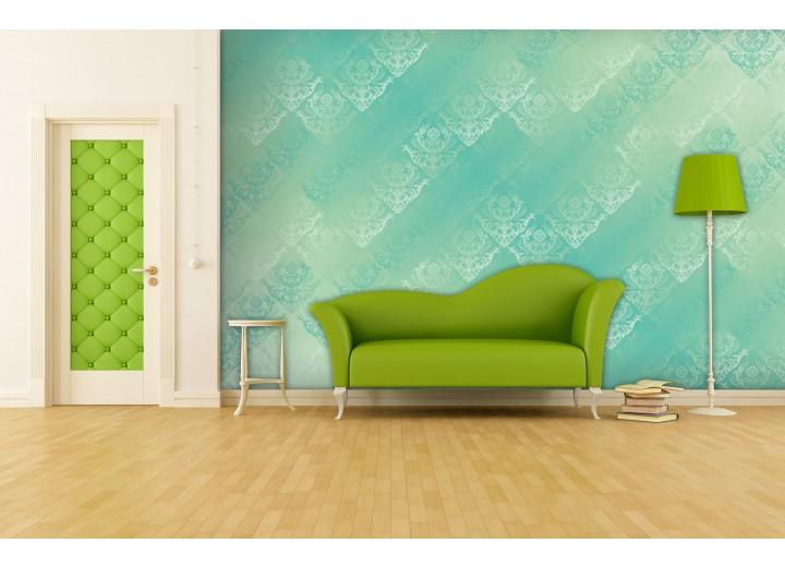 Fotobehang Klassiek | Groen, Blauw | 416x254