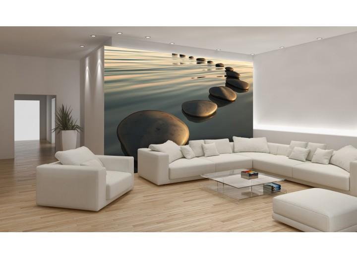 Fotobehang Stenen | Grijs | 152,5x104cm