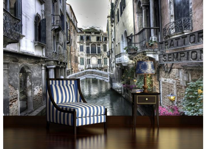 Fotobehang Venetië | Grijs | 152,5x104cm