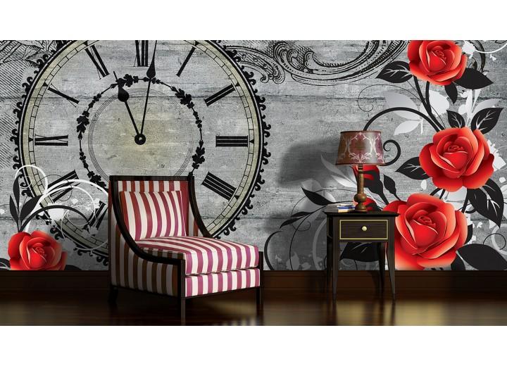Fotobehang Rozen, Bloemen | Rood | 152,5x104cm