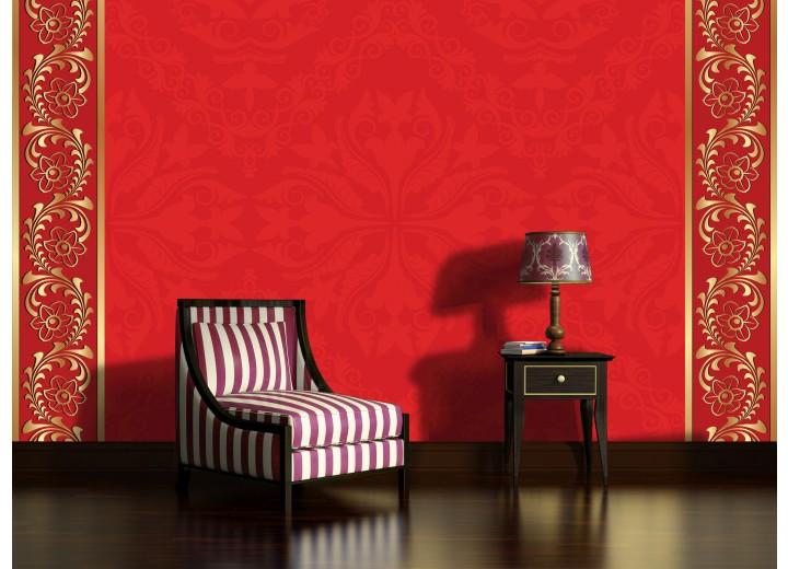 Fotobehang Klassiek | Rood, Goud | 152,5x104cm