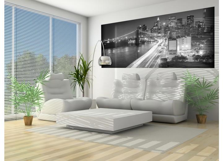 Fotobehang Bloem | Goud | 250x104cm