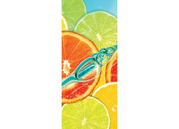 Fotobehang Fruit | Groen | 91x211cm