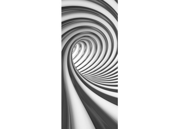 Deursticker Muursticker 3D, Design | Grijs | 91x211cm