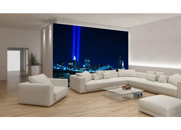 Fotobehang Vlies   New York   Blauw   368x254cm (bxh)