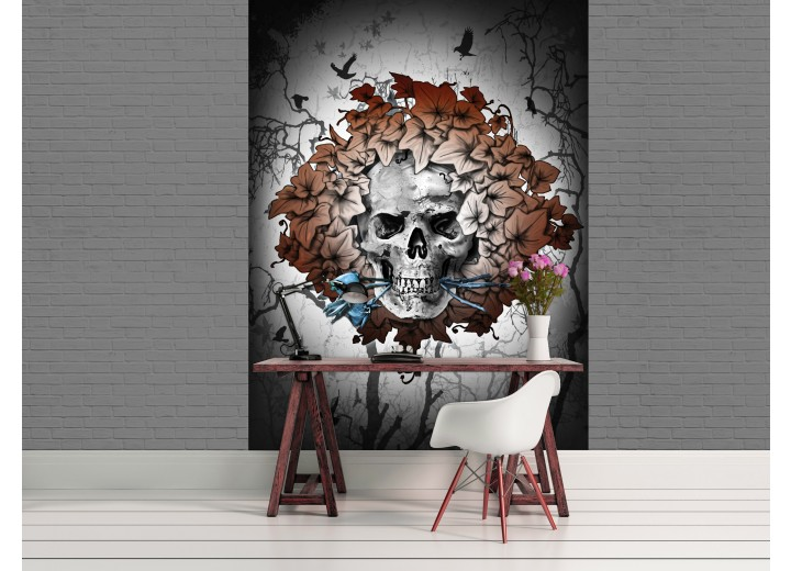 Fotobehang Papier Alchemy, Gothic | Bruin | 184x254cm