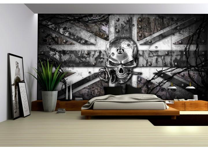 Fotobehang Alchemy Gothic | Grijs | 152,5x104cm