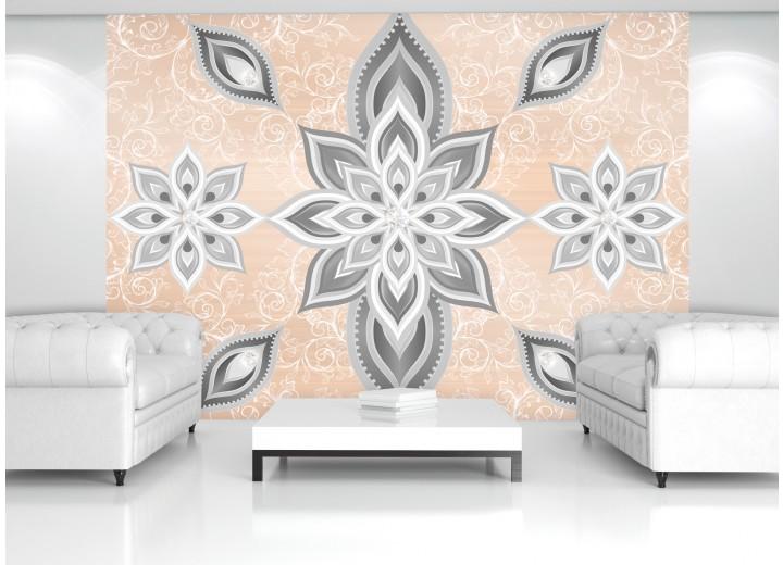 Fotobehang Modern | Zilver | 152,5x104cm