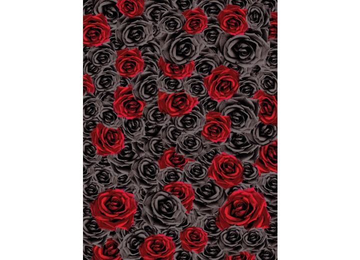 Fotobehang Papier Rozen, Bloemen | Rood | 184x254cm