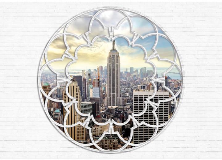 Fotobehang Papier Modern, Skyline | Grijs | 254x184cm