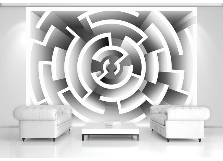 Fotobehang Design | Grijs | 104x70,5cm
