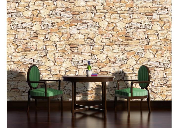 Fotobehang Stone | Crème | 152,5x104cm