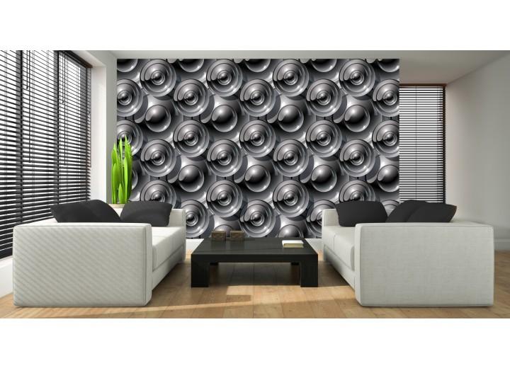 Fotobehang Design | Grijs | 208x146cm