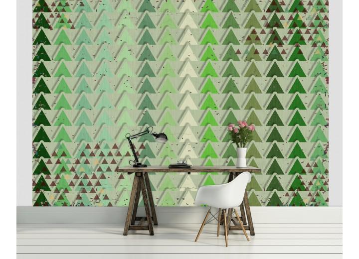 Fotobehang Landelijk | Groen | 416x254