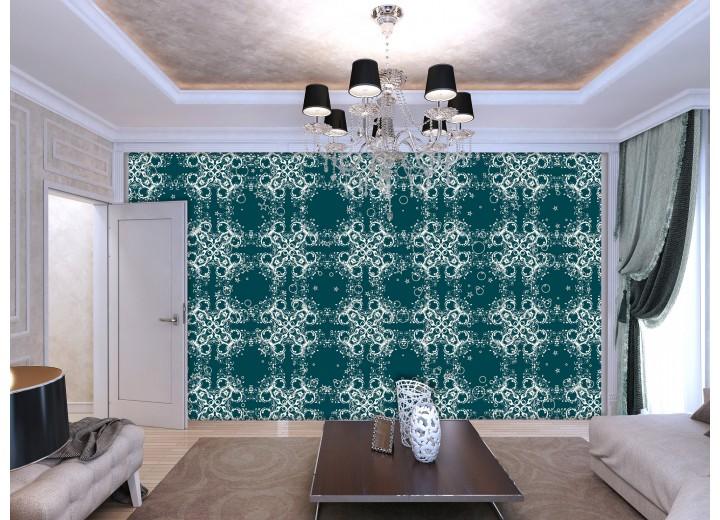 Fotobehang Klassiek | Groen | 152,5x104cm