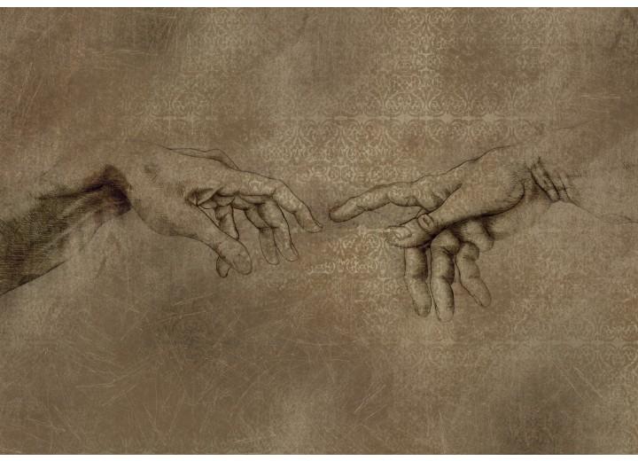 Fotobehang Papier Michael Angelo, Kunst | Sepia | 368x254cm