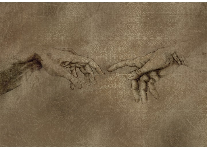 Fotobehang Vlies   Michael Angelo, Kunst   Sepia   368x254cm (bxh)