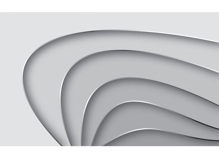Fotobehang Papier Design   Grijs   368x254cm