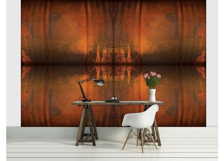 Fotobehang Papier Landelijk | Bruin, Oranje | 368x254cm