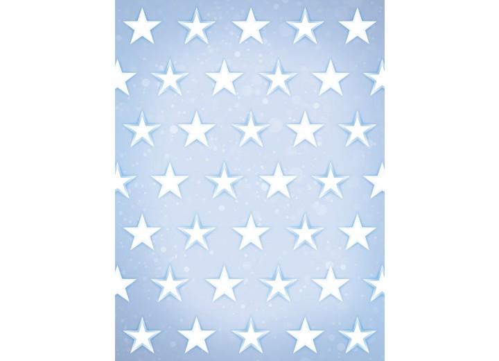Fotobehang Papier Sterren  | Blauw, Wit | 184x254cm