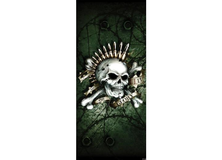 Deursticker Muursticker Alchemy, Gothic   Groen   91x211cm