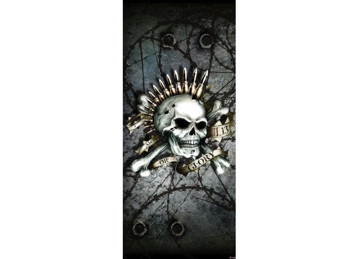 Fotobehang Alchemy Gothic   Grijs   91x211cm
