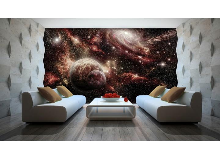 Fotobehang Planeten | Rood, Bruin | 312x219cm