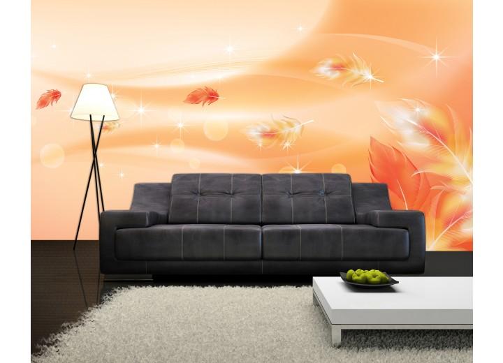 Fotobehang Modern | Oranje | 104x70,5cm