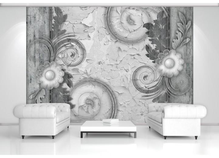 Fotobehang Papier Modern | Grijs | 368x254cm