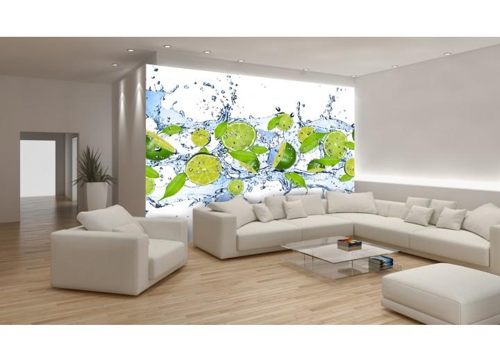 Fotobehang Keuken, Fruit | Groen | 152,5x104cm